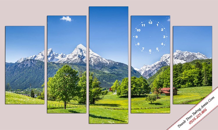 tranh dep phong canh doi nui bo 5 tam
