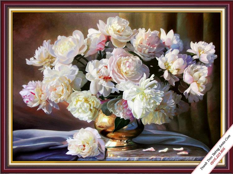 tranh phong ngu treo tuong binh hoa nghe thuat