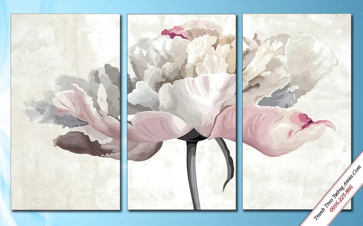 tranh treo phong ngu hoa nghe thuat ghep 3 tam
