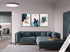 tranh treo tuong scadinavian la cây