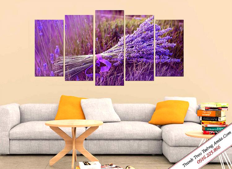 tranh hoa oai huong treo tuong dep