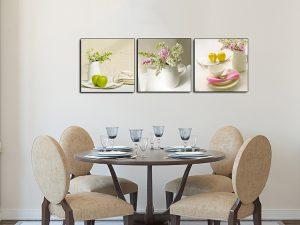 tranh treo phong an binh hoa qua lam qua tan gia