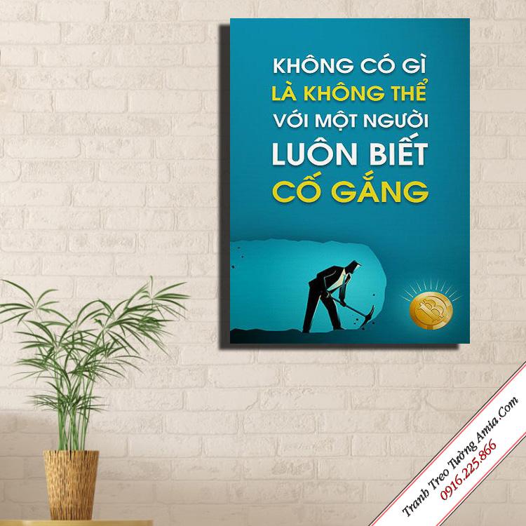 tranh slogan gia re treo van phong khong co gi la khong the
