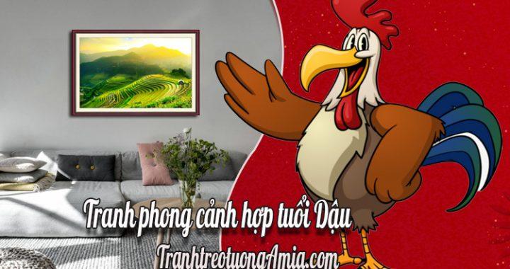 tranh phong canh hop tuoi dau