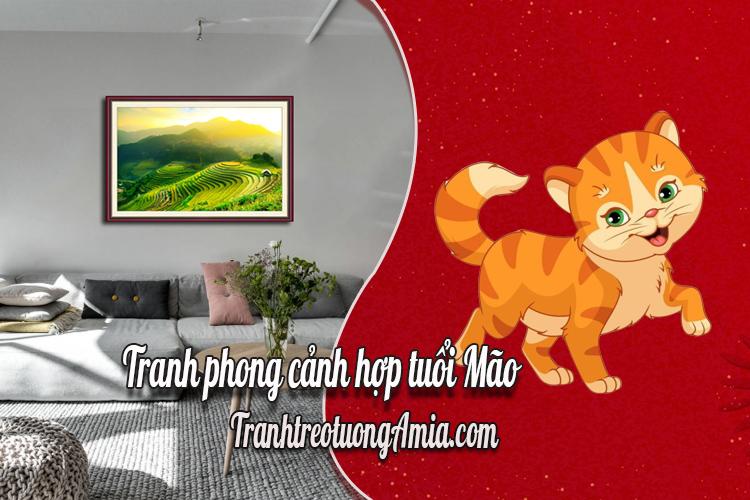 tranh phong canh hop tuoi mao