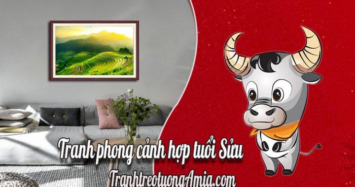tranh phong canh hop tuoi suu