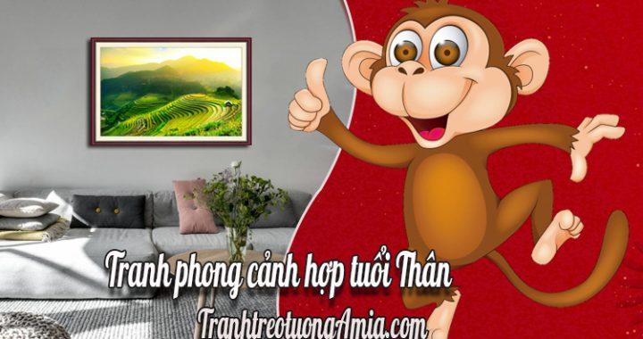 tranh phong canh hop tuoi than