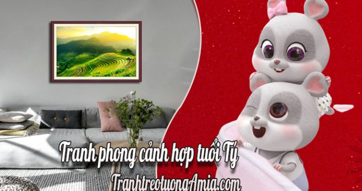 tranh phong canh hop tuoi ty