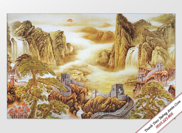 tranh van ly truong thanh tong vang dep hop tuoi mui