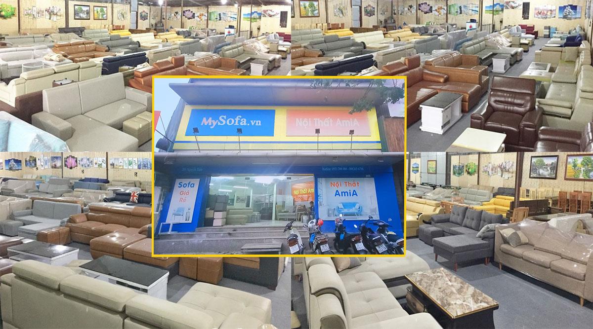 Cửa hàng AmiA với đa dạng các mẫu mã sofa góc đẹp hiện đại